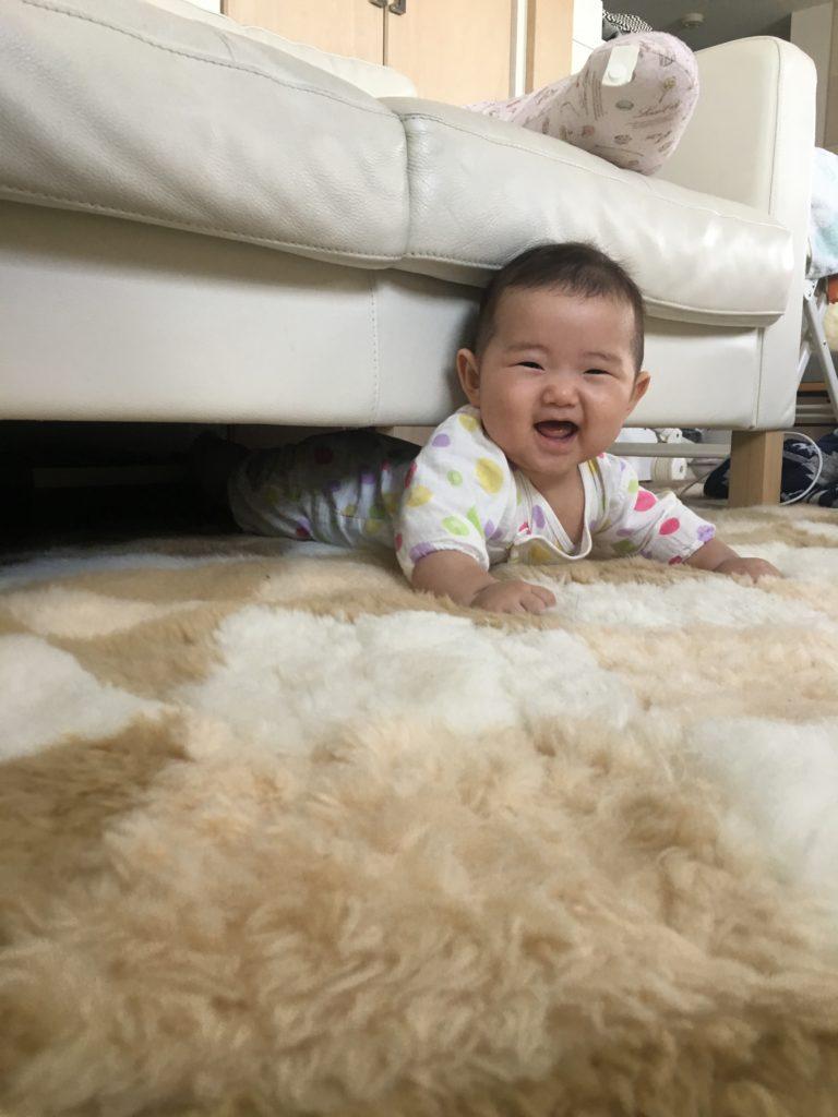6ヶ月の娘
