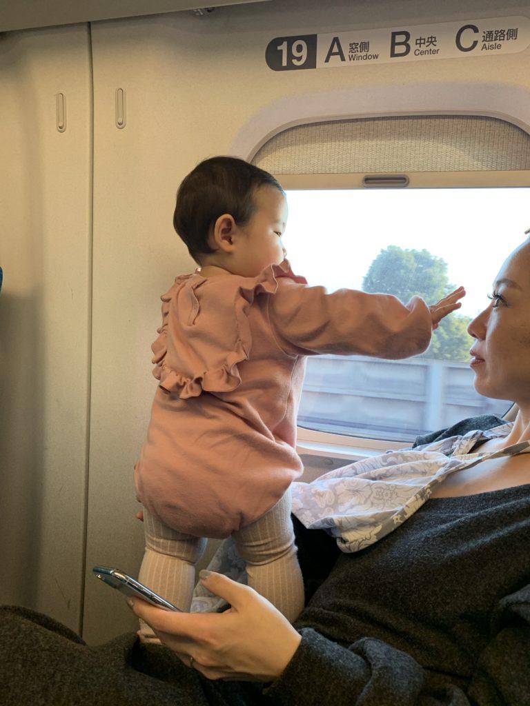 華ちゃん新幹線