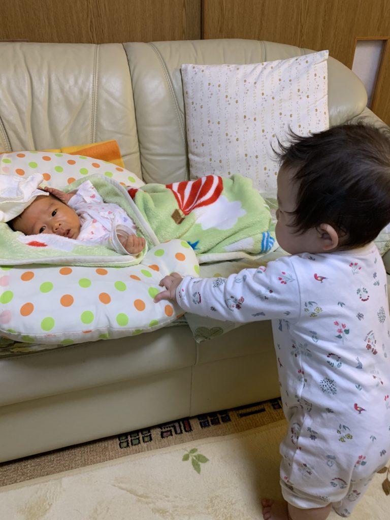 華ちゃんと赤ちゃん